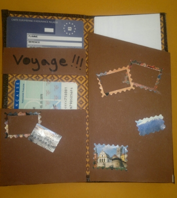 porte document de voyage