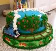gâteau anniversaire train